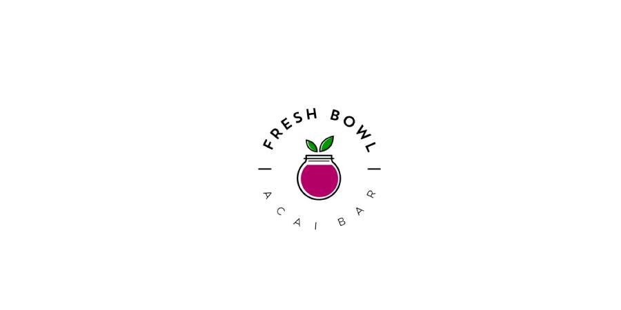 Logotipo de Açaí no pote