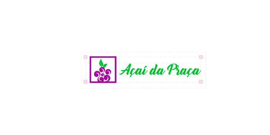Logomarca de Açaí