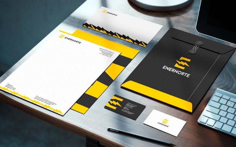 identidade-visual-empresa-de-energia-eletrica-enernorte
